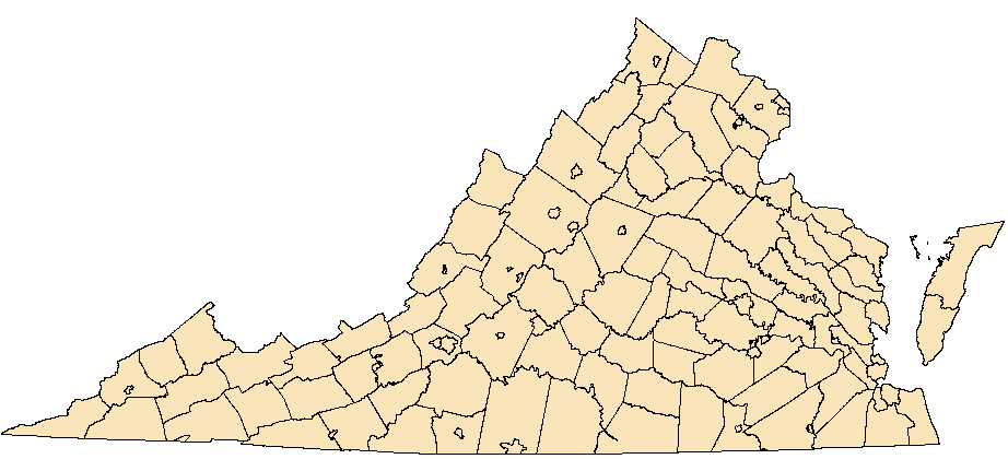 image of distribution map of VA